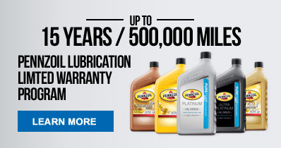 Pennzoil Limited Warranty Program